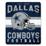 Dallas Cowboys Football Established 1960, Fleece Throw Blanket